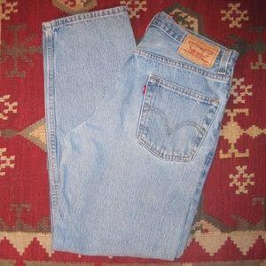 Levi's 550 Mens Blue Jeans 31/30